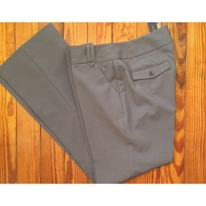 Grey pants from The Limited